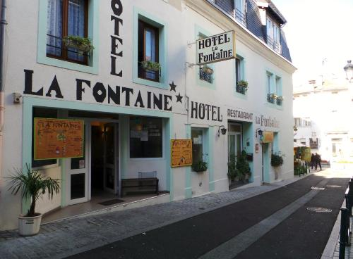 Hôtel La Fontaine - Hôtel - Lourdes