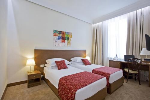 Palace Hotel Zagreb kamer foto 's