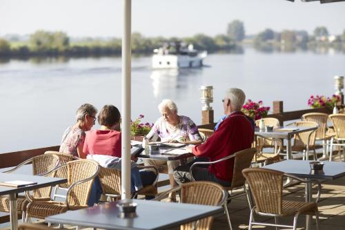 Zwartewater, Pension in Zwartsluis bei Giethoorn