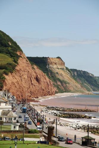 Manor Road, Sidmouth, Devon, England.