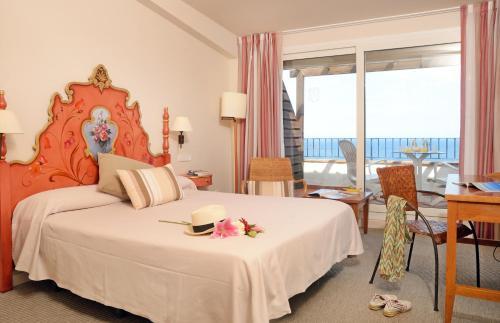 Superior Doppelzimmer mit Meerblick Hotel Sant Roc 10