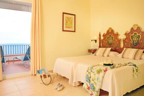 Superior Doppelzimmer mit Meerblick Hotel Sant Roc 7