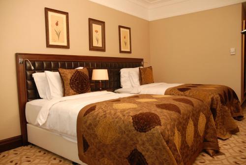 Crowne Plaza Istanbul Asia Клубный двухместный номер с 2 отдельными кроватями - Для некурящих