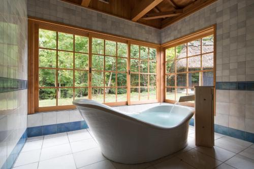 Superior Twin Room with Open-Air Bath