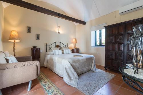 Habitación Doble - 1 o 2 camas B&B Hacienda el Santiscal 16