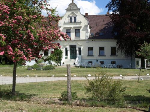 Kasteel-overnachting met je hond in Hotel Pension Gutshaus Neu Wendorf - Sanitz