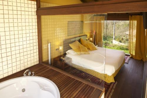 Villa Deluxe de 1 dormitorio La Corte de Lugás 12