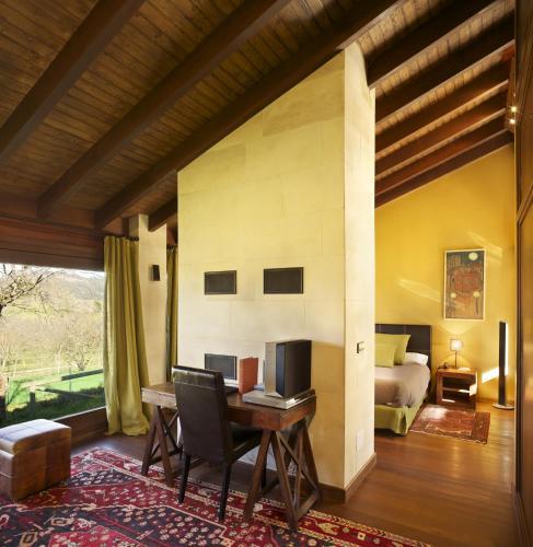Villa Deluxe de 1 dormitorio La Corte de Lugás 16