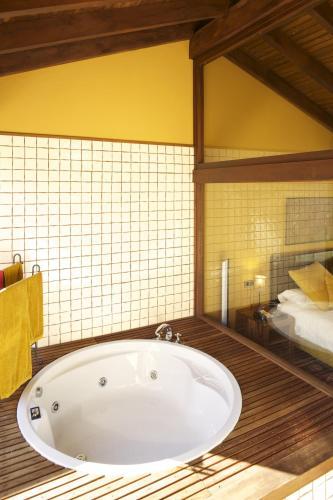 Villa Deluxe de 1 dormitorio La Corte de Lugás 14