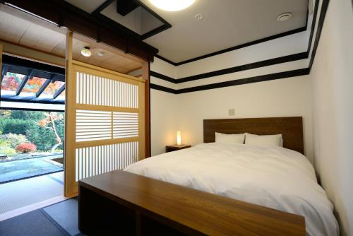 Double Room with Semi Open-Air Bath