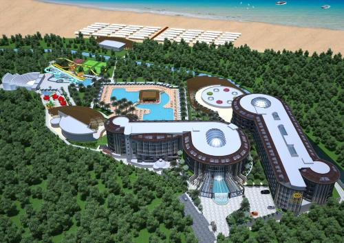 Kizilagac Sunmelia Beach Resort Hotel & Spa-All Inclusive map