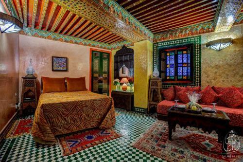 Palais De Fès Dar Tazi istabas fotogrāfijas