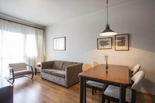 Apartament 1 Habitació amb 2 Llits Individuals (One-Bedroom Apartment with Twin Beds)
