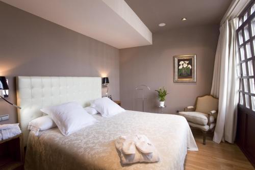Habitación Doble - 1 o 2 camas - Uso individual Antiguo Casino Hotel 19