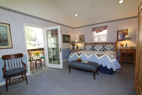 McCaffrey House Bed and Breakfast Inn - Accommodation - Twain Harte