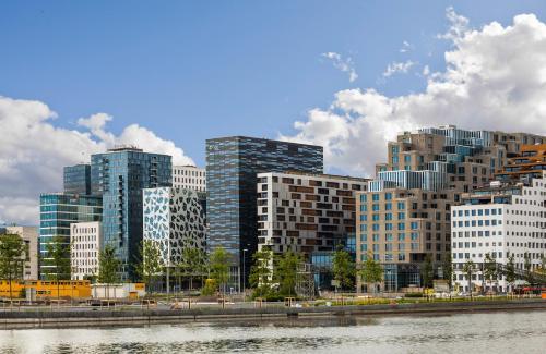 . BJØRVIKA APARTMENTS, Opera Area, Oslo city center