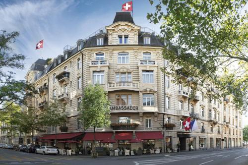 Small Luxury Hotel Ambassador Zurich, 8008 Zürich