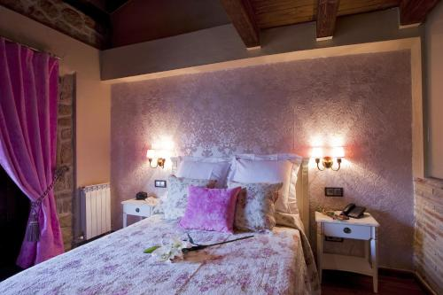 Vierbettzimmer mit Bergblick Hotel Real Posada De Liena 24