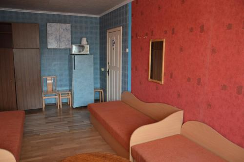 . Chernobyl type rooms in a block flat house