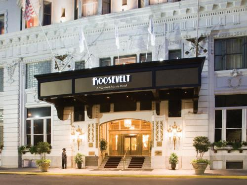 New Orleans Hotels >> The Roosevelt New Orleans A Waldorf Astoria Hotel In La