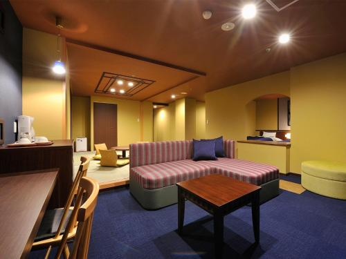 Deluxe Room with Tatami Area and Hot Spring Bath - Non-Smoking