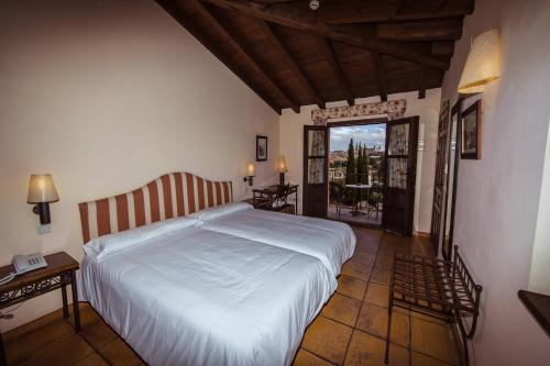 Doppel-/Zweibettzimmer mit eigener Terrasse Cigarral de Caravantes 51
