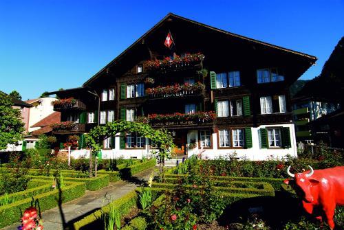 Hotel-overnachting met je hond in Hotel Chalet Swiss - Interlaken