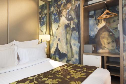 Turenne Le Marais Двухместный номер с 2 отдельными кроватями