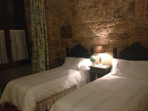 Doppel- oder Zweibettzimmer - Einzelnutzung Casa a Pedreira Rias Baixas 8