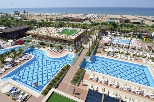 Side Trendy Verbena Beach Hotel harita