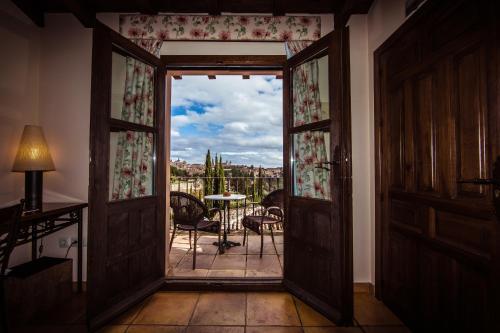 Doppel-/Zweibettzimmer mit eigener Terrasse Cigarral de Caravantes 41