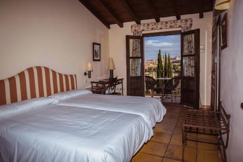 Doppel-/Zweibettzimmer mit eigener Terrasse Cigarral de Caravantes 45