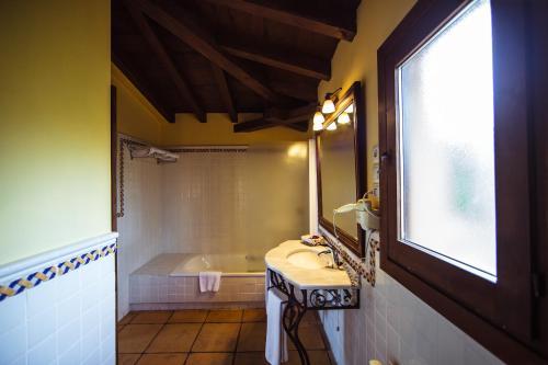 Doppel-/Zweibettzimmer mit eigener Terrasse Cigarral de Caravantes 56