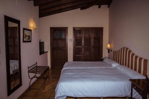 Doppel-/Zweibettzimmer mit eigener Terrasse Cigarral de Caravantes 48