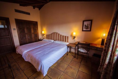 Doppel-/Zweibettzimmer mit eigener Terrasse Cigarral de Caravantes 50