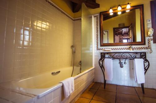 Doppel-/Zweibettzimmer mit eigener Terrasse Cigarral de Caravantes 49