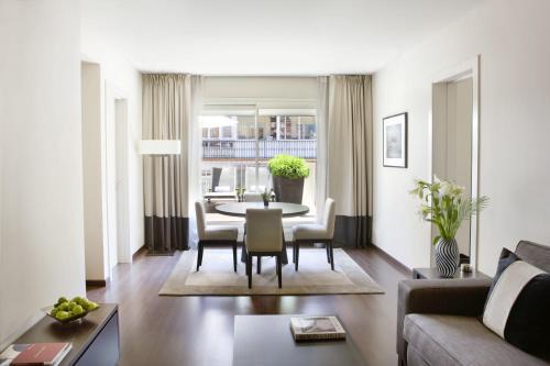 Penthouse-Apartment mit 1 Schlafzimmer Hotel Murmuri Barcelona 12