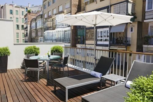 Penthouse-Apartment mit 1 Schlafzimmer Hotel Murmuri Barcelona 8