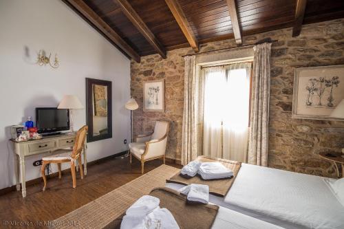Doppel- oder Zweibettzimmer - Einzelnutzung Hotel Rustico Lugar Do Cotariño 74