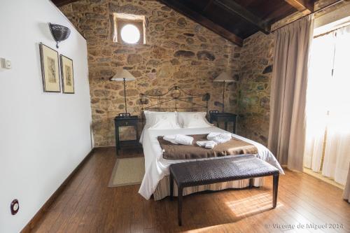 Doppel- oder Zweibettzimmer - Einzelnutzung Hotel Rustico Lugar Do Cotariño 75