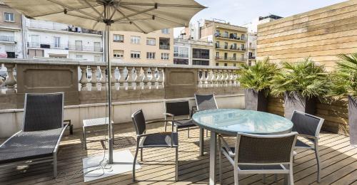 Penthouse-Apartment mit 1 Schlafzimmer Hotel Murmuri Barcelona 10