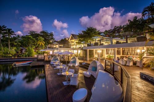 Marigot Bay, Saint Lucia, West Indies.