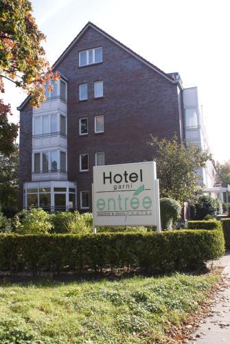 Entrée Groß Borstel Garni Hotel impression