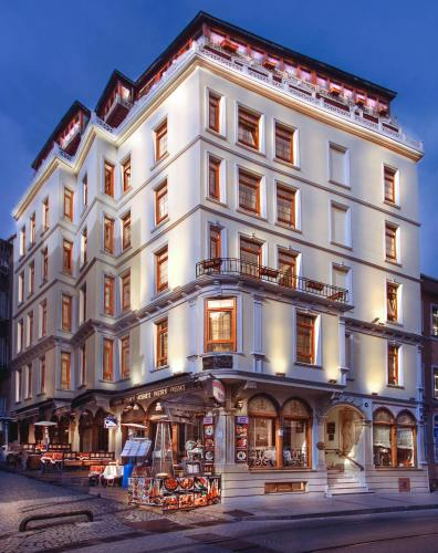 Istanbul Best Western Empire Palace Hotel & Spa harita