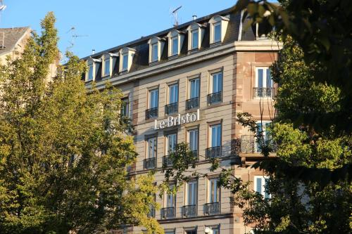 The Originals Boutique Hotel Bristol Strasbourg Centre Gare Inter