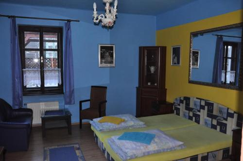 Cameră single cu duş (Single Room with Shower)