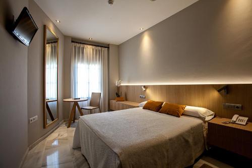 Doppel- oder Zweibettzimmer Hotel Barrameda 9