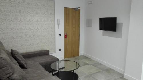 Apartamentos las Palmeras room Valokuvat