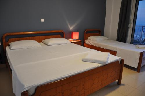 Cameră dublă sau twin cu vedere la mare (Double or Twin Room with Sea View)