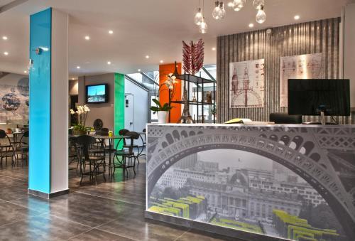 Hotel Alpha Paris Tour Eiffel by Patrick Hayat impression